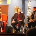 Pierre, Agnès et la journaliste