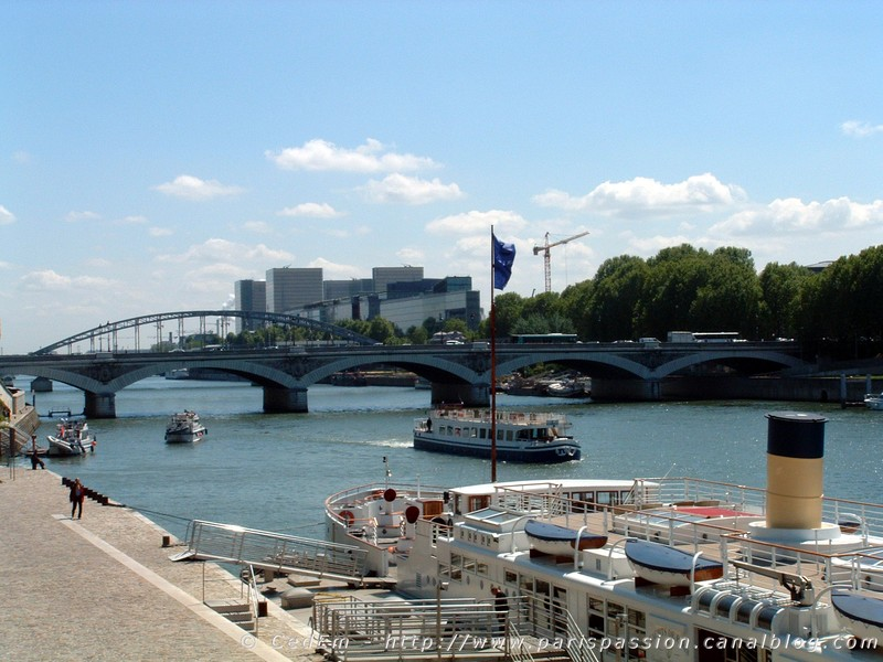 quai de la rap e est photo de la seine dans tous ses tats paris passion. Black Bedroom Furniture Sets. Home Design Ideas