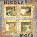 NICOLAS 2 MOIS ..............MONOGRAMME