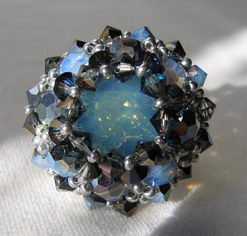 Ilanga white opal star shine, de MU pour HDPS