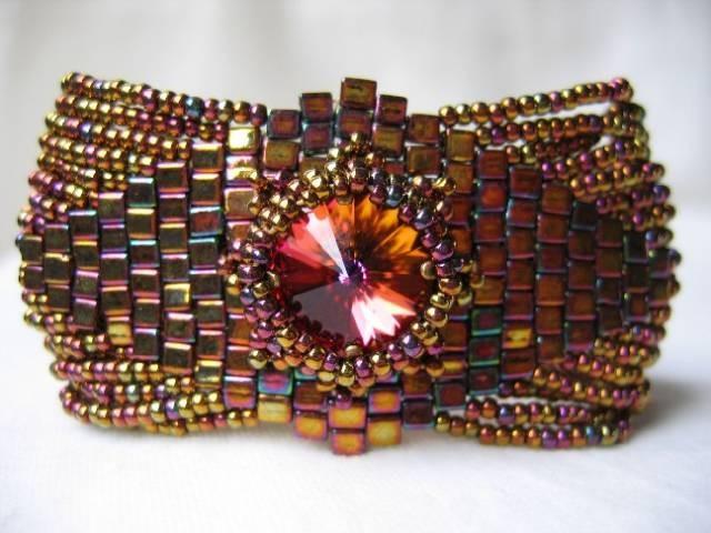Bracelet en Brick Stitch de Beadwork