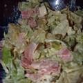 Salade strasbourgeoise à ma façon