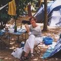 Carole au camping