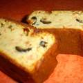 Cake aux anchois, aux tomates et aux olives noires