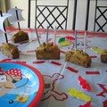 Des mini cakes bateaux