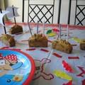 Des mini cakes bateaux