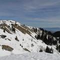 La petite Dôle face aux Alpes