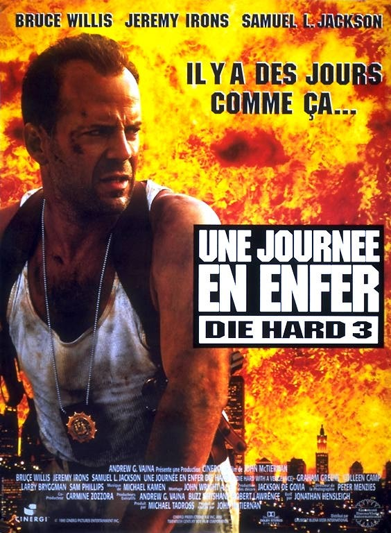 Die Hard 3 - Une journée en enfer affiche