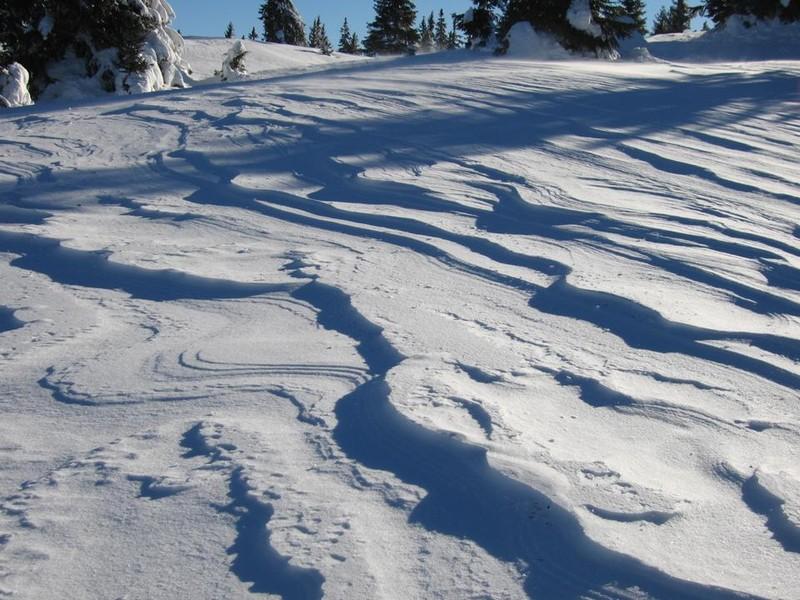 Passage du vent sur la neige (1)