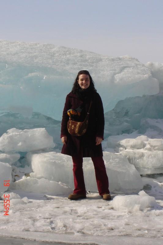 Face à la glace