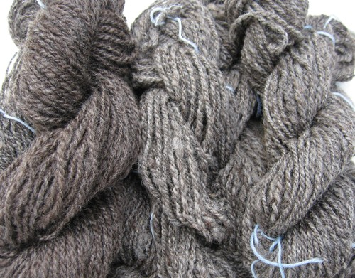 Handspun merinos and wool