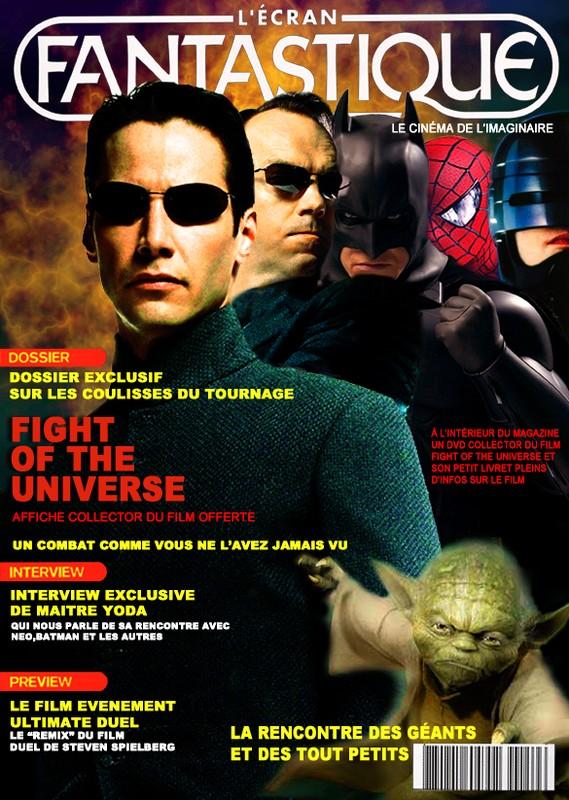 COUVERTURE FICTIVE L'ECRAN FANTASTIQUE / FICTITIOUS COVERING...
