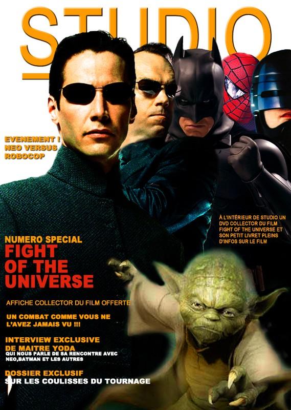 COUVERTURE FICTIVE STUDIO MAGAZINE / FICTITIOUS COVERING...