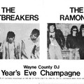 Thunder avec les heartbreakers et la bande des Ramones