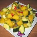Salade de mangues aux courgettes