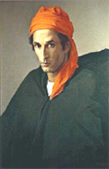 Claudio_BRAVO_Le_turban_rouge
