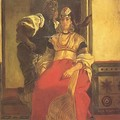 Alfred DEHODENCQ_Mariée juive au Maroc