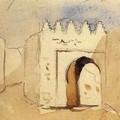 Ferdinand-Victor-Eugène Delacroix_Ruelle à Tanger 19832