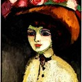 Kees VAN DONGEN_Woman of Montmartre 1911