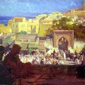 Gordon Coutts (1868 - 1937)_From my Studio, Tangier