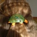 barrette en forme de tortue