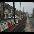 Finalisation des voies du tram