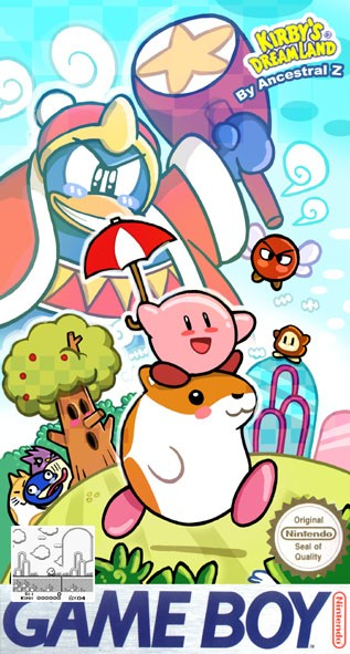 Kirby Dream land snes game boy