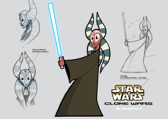 Shaakti de clone Wars animated