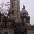 Le Panthéon et la tour du lycée Henri IV