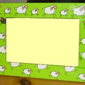 cadre moutons
