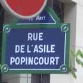 La rue de l'Asile Popincourt