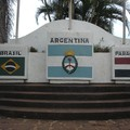 les 3 frontieres Bresil Paraguay Argentine