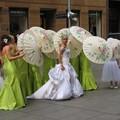 Une belle mariée australienne