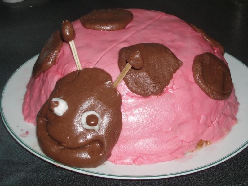 G teau coccinelle victoria sponge cake aux fruits rouge for En cuisine qu est ce qu une girolles
