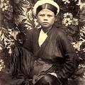 Jeune femme tonkinoise
