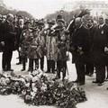 L'empereur Khai Dinh et son fils, le prince Vinh Thuy, à Paris en 1922