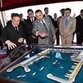 جلالة الملك يشرف ببلدية المرسى (العيون) على تدشين توسعة ميناء العيون