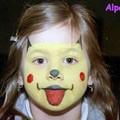 09.2 - Maquillage Fête des enfants 2002
