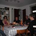 Tout à droite, c'est Clément, le copain de Célia qui nous a rejoint pour le dîner