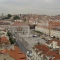 vue depuis le haut de l'Elevador Santa Justa