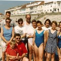 Eté 1993, à Fort Mahon (80), avec mes cousin(e)s, oncle, tante...