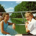 1990 - avec Claire, ma cousine anglaise...