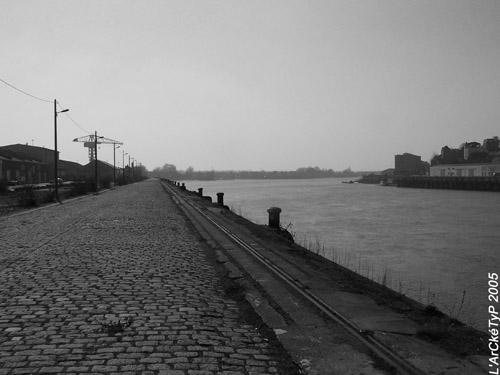 Les quais de l'île de Nantes