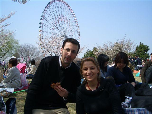 1er Avril 2006 Hanami avec Cyril