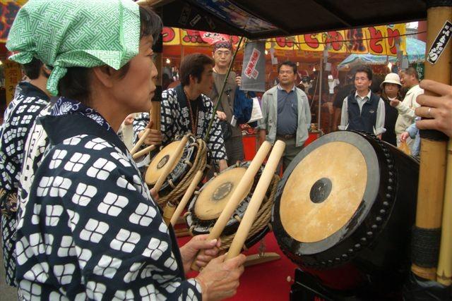 Ninomiya au son des taiko