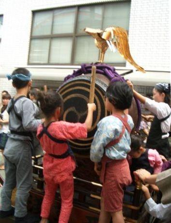 Enfants et leur Taiko