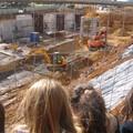 Vue du chantier en pleine activité - CM2 Gringoire