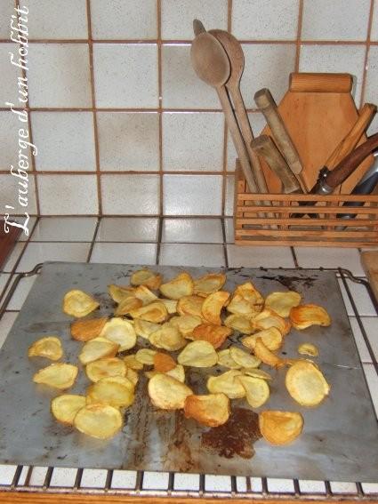 Friture de carotte et pomme de terre3/3 : les pommes de terre c'est réussi!: