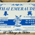 Thai Emeraude carte de visite 1/1