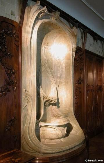 Edmond Lechenal - Vase Balustre 1895
